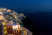 Santorini at Night II